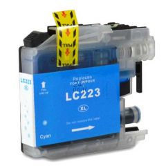 Compatible BROTHER LC-223C Inkt Cartridge  Cyaan van 247print.nl