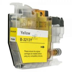 Compatible BROTHER LC-3213Y Inkt Cartridge  Geel van 247print.nl