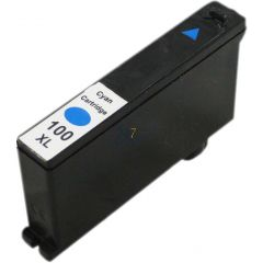 Compatible LEXMARK 100XL 014N1069E Inkt Cartridge  Cyaan van 247print.nl