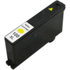 Compatible LEXMARK 100XL 014N1071E Inkt Cartridge  Geel van 247print.nl