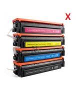 Compatible CANON / HP 054H / 045H / CF542X / CF402X Toner Cartridge  Geel van 247print.nl
