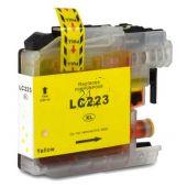 Compatible BROTHER LC-223Y Inkt Cartridge  Geel van 247print.nl