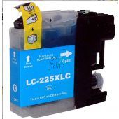 Compatible BROTHER LC-225XLC Inkt Cartridge  Cyaan van 247print.nl