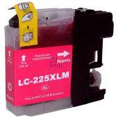 Compatible BROTHER LC-225XLM Inkt Cartridge  Magenta van 247print.nl