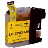 Compatible BROTHER LC-225XLY Inkt Cartridge  Geel van 247print.nl