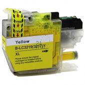 Compatible BROTHER LC-3219XL Y Yellow Inkt Cartridge  Geel van 247print.nl