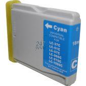 Compatible BROTHER LC-970C Inkt Cartridge  Cyaan van 247print.nl