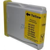 Compatible BROTHER LC-970Y Inkt Cartridge  Geel van 247print.nl