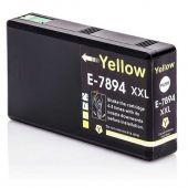 Compatible EPSON 79XXL T7894 Inkt Cartridge  Geel van 247print.nl
