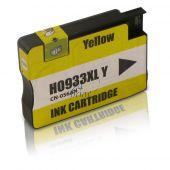 Compatible HP HP 933XLY / CN056AE Inkt Cartridge  Geel van 247print.nl