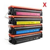 Compatible CANON / HP 054H / 045H / CF541X / CF401X Toner Cartridge  Cyaan van 247print.nl