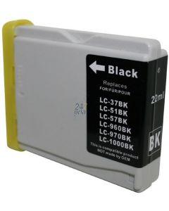 Compatible BROTHER LC-1000BK Inkt Cartridge  Zwart van 247print.nl