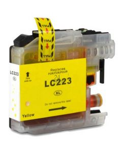 Compatible BROTHER LC-223Y Inkt Cartridge  Geel van 247print.nl