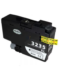 Compatible BROTHER LC-3235 XL Black Inkt Cartridge  Zwart van 247print.nl