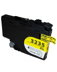 Compatible BROTHER LC-3235 XL Yellow Inkt Cartridge  Geel van 247print.nl