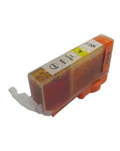 Compatible CANON CLI-526Y Inkt Cartridge  Geel van 247print.nl
