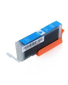 Compatible CANON CLI-571XL  Inkt Cartridge  Cyaan van 247print.nl