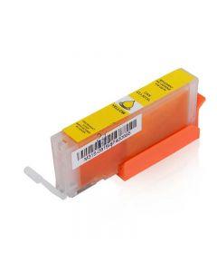 Compatible CANON CLI-571XLY Inkt Cartridge  Geel van 247print.nl