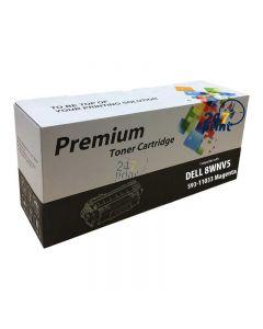 Compatible DELL 593-11033 / 8WNV5 Toner Cartridge  Magenta van 247print.nl