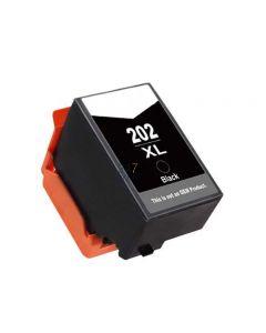 Compatible EPSON 202XL / C13T02G14010 Inkt Cartridge  Zwart van 247print.nl