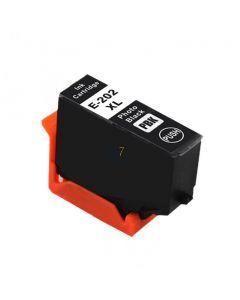 Compatible EPSON 202XL / C13T02H14010 Inkt Cartridge  Foto Zwart van 247print.nl