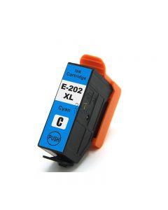 Compatible EPSON 202XL / C13T02H24010 Inkt Cartridge  Cyaan van 247print.nl
