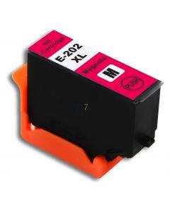 Compatible EPSON 202XL / C13T02H34010 Inkt Cartridge  Magenta van 247print.nl