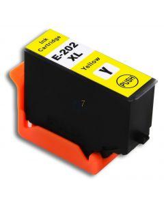 Compatible EPSON 202XL / C13T02H44010 Inkt Cartridge  Geel van 247print.nl