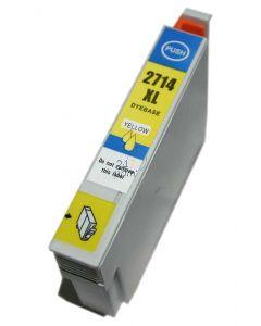 Compatible EPSON T2714 Inkt Cartridge  Geel van 247print.nl
