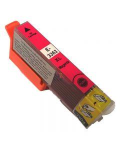 Compatible EPSON 33XL T3363 Inkt Cartridge  Magenta van 247print.nl