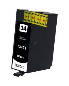 Compatible EPSON 34XL / T3471 Inkt Cartridge  Zwart van 247print.nl