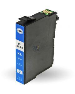 Compatible EPSON 35XL / T3592 Inkt Cartridge  Cyaan van 247print.nl