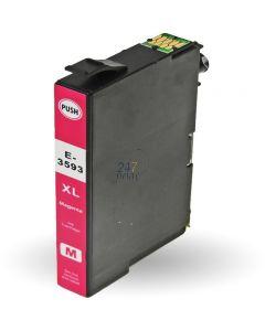 Compatible EPSON 35XL / T3593 Inkt Cartridge  Magenta van 247print.nl
