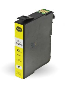 Compatible EPSON 35XL / T3594 Inkt Cartridge  Geel van 247print.nl