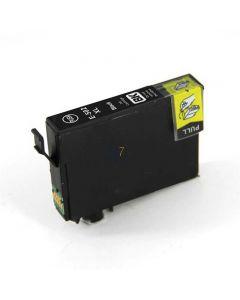 Compatible EPSON 502XL / C13T02W14010 Inkt Cartridge  Zwart van 247print.nl
