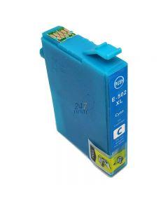 Compatible EPSON 502XL / C13T02W24010 Inkt Cartridge  Cyaan van 247print.nl