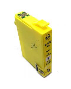 Compatible EPSON 502XL / C13T02W44010 Inkt Cartridge  Geel van 247print.nl