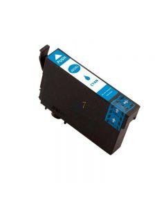 Compatible EPSON 603XL / C13T03A24010 Inkt Cartridge  Cyaan van 247print.nl