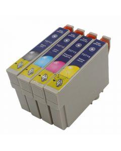 Compatible EPSON T0715 Inkt Cartridge  Zwart van 247print.nl
