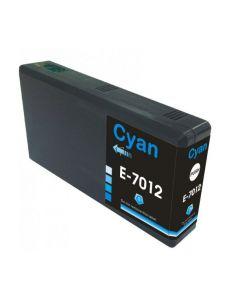 Compatible EPSON T70124010 / T7012 Inkt Cartridge  Cyaan van 247print.nl