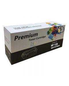 Compatible HP 12A / Q2612A Toner Cartridge  Zwart van 247print.nl