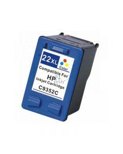Refilled HP C9352CE Inkt Cartridge  3- Kleuren van 247print.nl