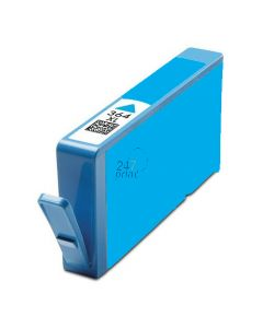 Compatible HP CB323EE Inkt Cartridge  Cyaan van 247print.nl