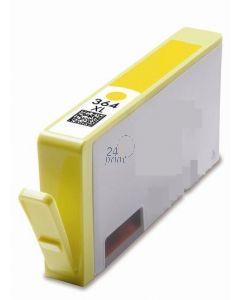 Compatible HP CB325EE Inkt Cartridge  Geel van 247print.nl