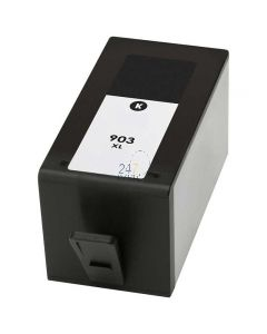 Compatible HP 903XL / T6M15AE Inkt Cartridge  Zwart van 247print.nl