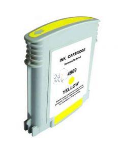 Compatible HP C4909AE Inkt Cartridge  Geel van 247print.nl