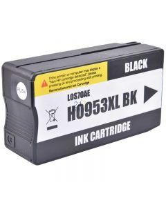Compatible HP 953XL / L0S70AE Inkt Cartridge  Zwart van 247print.nl