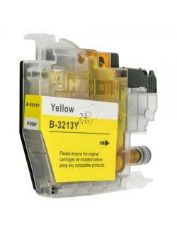 Compatible BROTHER LC-3213Y Inkt Cartridge  Geel van 247print.nl