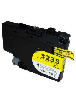 Compatible BROTHER LC-3235 XL Yellow Inkt Cartridge  Geel van 247print.nl
