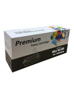 Compatible DELL 593-11040 / N51XP Toner Cartridge  Zwart van 247print.nl